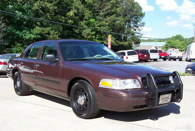 2010 Ford Crown Victoria 1-OWNER P71 NEAT CONSTABLE UNDERCOVER LOOK CRUISER A NEAT SOLID GA COLD AC CD CLOTH CRUISE CARPET PUSH BAR P 71 POLICE INTERCEPTOR