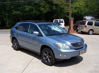 2004 Lexus RX 1-OWNER 74K 3.3L V6 GLASS PWR ROOF LEATHER PREMIUM PKG WAGON HARP COLORS 18 INCH WHEELS DVD HID WALNUT WOOD PWR HATCH REMOTE START 300 SUV