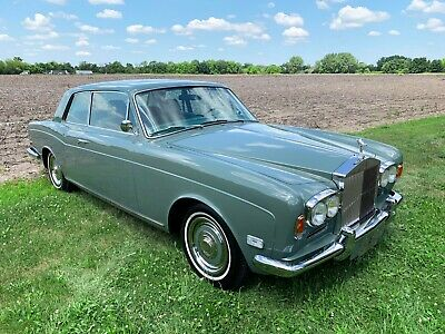 "1970 Rolls-Royce Corniche - 2 door saloon (Fixed Head Coupe - ""FHC"") Adorable early chrome bumper 2 door coupe - beautiful rare example."