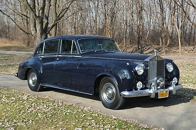 1962 Rolls-Royce Silver Cloud - LWB with division World's most unique Silver Cloud II LWB with division. Factory bespoked 1-of-1.