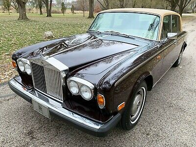"1978 Rolls-Royce Silver Shadow - Wraith II ... in Bentley disguise..... rare colour Silver Wraith II FREE SHIPPING on ""BIN"""
