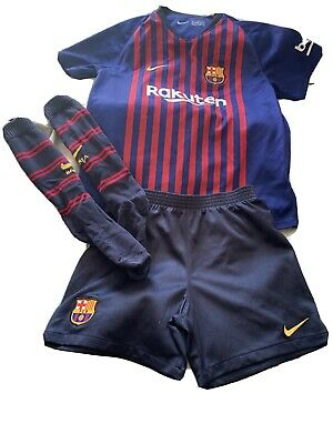 Genuine Barcelona Kit Aged 7-8 Years