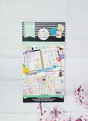 Essential Planning Sticker Book The Happy Planner,  Me & My Big Ideas,  New