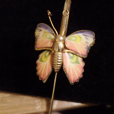 Beautiful Gold Tone Butterfly Bookmark