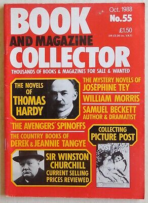 BOOK & MAGAZINE COLLECTOR #55 - 10/1988 - Thomas Hardy, Samuel Beckett