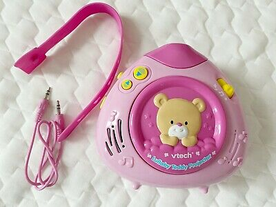Vtech Lullaby Teddy Projector Pink
