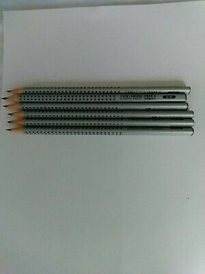 Faber Castell 2001 Grip Pencils B (6)