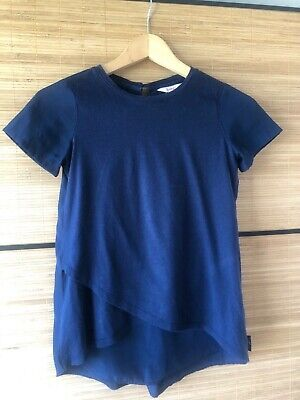 Ted Baker Aged 8-9 Years Navy Blue Top Casual and Smart Girls...