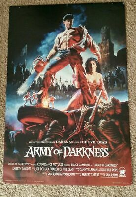 ARMY OF DARKNESS Movie Poster 23x34