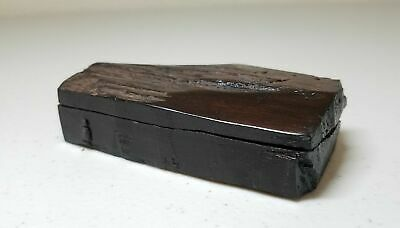Ancient Japanese Wood Carving Box