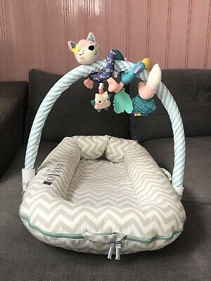 Sleepyhead Toy Bar Mobile Attachment Stripes With Infantino Toys Included
