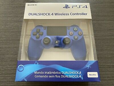 Sony - Dualshock 4 V2 Mando Inalámbrico, Color Azul V2 (PS4) Blue