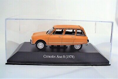 Citroën  Ami 8  Orange  1978  -  Ixo    - 1/43