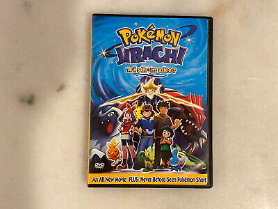Pokemon Jirachi Wish Maker Dvd 2004 3 99 Picclick