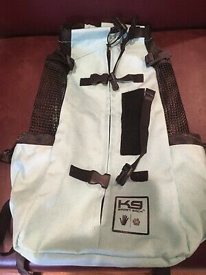 Premium K9 Sport Sack: Mint K9 Front-Facing Backpack Dog Carrier