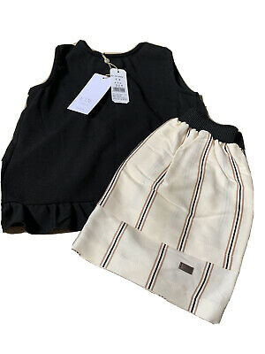 Brand New With Tags Girls Spanish Eve Children 2 Piece Set Age 8 Years