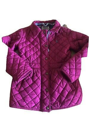 Girls Joules Jacket Age 8