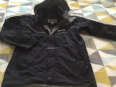 Berghaus Aquafoil Hooded Shell Jacket Coat Waterproof Age 7-8