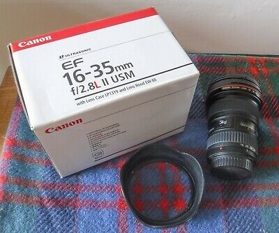Canon EF16-35mm II f/2.8 L USM Lens in Very Good Condition