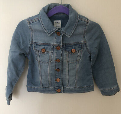 Baby Gap Girls Light Blue Denim Jacket 4 Years