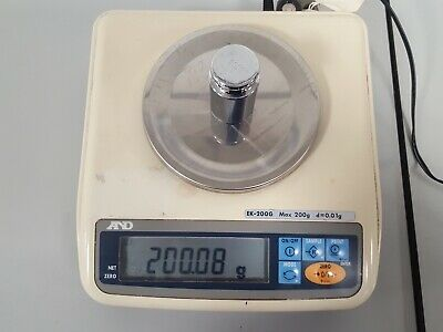 A&D EK-200G Analytical Scale Balance Lab Weighing Scales