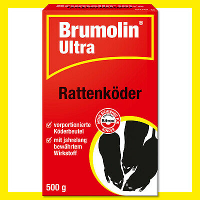 Brumolin 2 x 500 Outil Ultra Raticide Poison