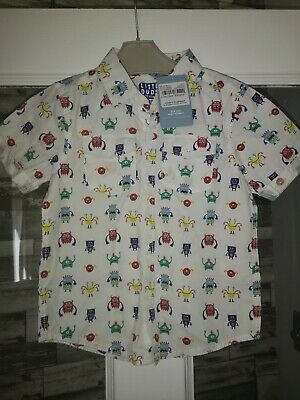 BNWT Boys Monster Shirt 2-3