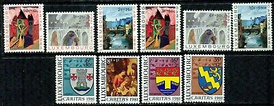 Luxembourg   – 1964-1981  – Caritas Collection   – Vf  **