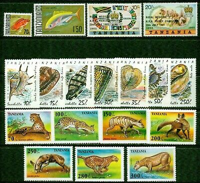 Tanzania – 1969-1995  – Collection  – Vf  **