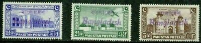 Bangladesh – 1971-73  – Overprints – Vf  **