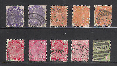 South Australia Stamp Selection