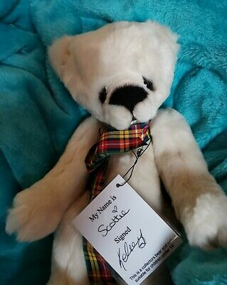 Kaycee Bears Scottie Ltd Ed Signed with tags by Kelsey Cunningham (Scotland