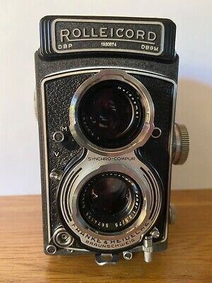 Vintage Rolleicord TLR Camera DBP DBGM Germany with Case