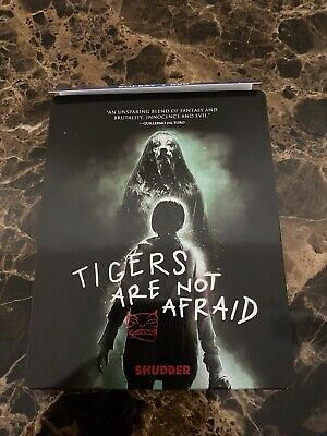 Tigers Are Not Afraid (Blu-ray and DVD) Limited Edition Steelbook. Like New!