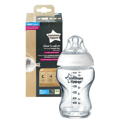 Tommee Tippee Closer To Nature Verre Bouteille 250ml