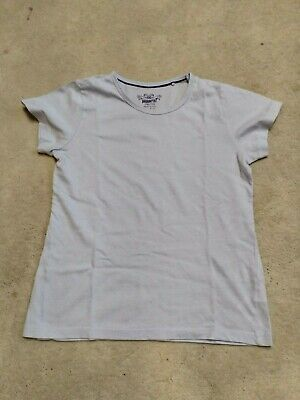 GIRLS BLUE SHORT SLEEVED T-SHIRT FROM PEPPERTS AGE 10-12 YEARS Good Condition