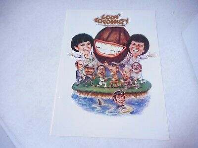 Goin' Coconuts  (Donnie & Marie Osmond)  Movie Program 1978
