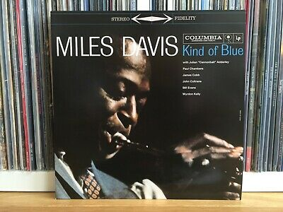Miles Davis ‎– Kind Of Blue Vinyl Record LP