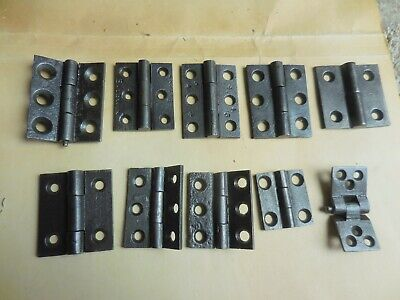 Various Sizes of Single ANTIQUE CAST IRON BUTT HINGES - SOLD INDIVIDUALLY
