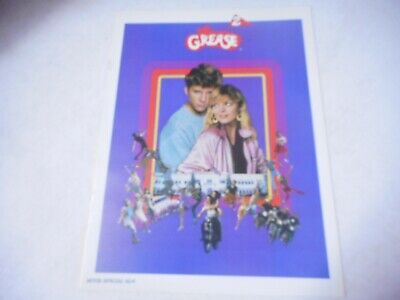 Vintage 1982 Grease 2 Original Movie Program MICHELLE PFEIFFER Hollywood