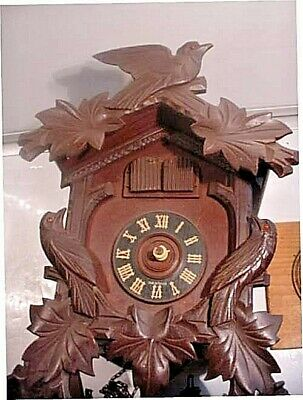 Vintage Made In Germany Cuckoo  Clock- As Found- No Hands !