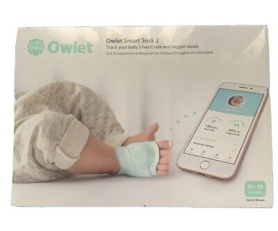 Owlet Smart Sock 2 Baby Monitor Brand New and Sealed.