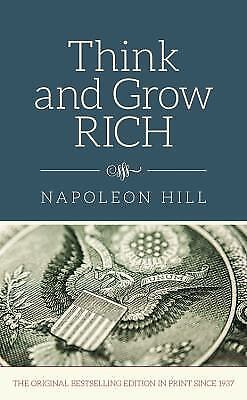 Think and Grow Rich by Napoleon Hill (2015, Hardcover)