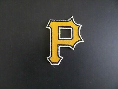 PITTSBURGH PIRATES MLB EMBROIDERED  2-1/8 x 2-3/4 Iron On Patch