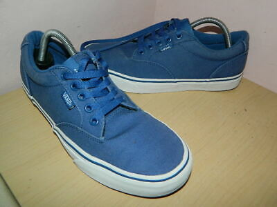 mens Vans Off The Wall navy/blue textile lace up shoes trainers uk 6 eur 39