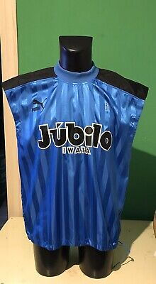 Jubilo Iwata Puma Allenamento Football Issued Shirt Worn Issued
