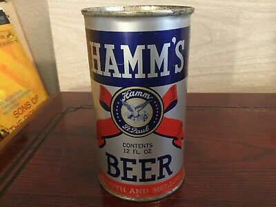 Hamm's Beer (79-14) empty OI flat top beer can by Theo. Hamm, St. Paul, MN
