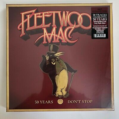Fleetwood Mac - 50 Years (Don't Stop Greatest Hits) 5LP BOX Vinyl Record [NEW]