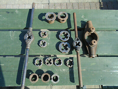 Vintage Conduit dies guides & wrenches