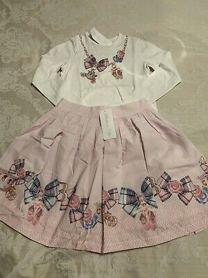 Girls Balloon Chic Set Age 10 Years. Skirt & Top. Romany.